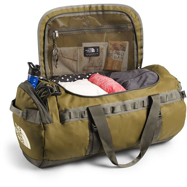 BASE CAMP DUFFEL-M, BRITISH KHAKI/WEIMARANER BROWN, hi-res