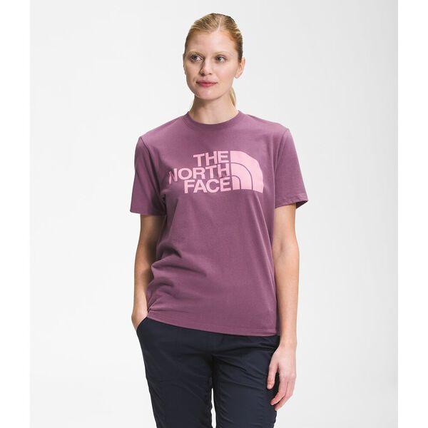 Women's Short-Sleeve Half Dome Cotton Tee, PIKES PURPLE, hi-res