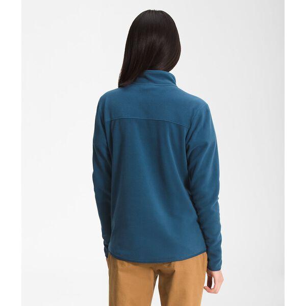 Women's TKA Glacier Fleece Full Zip Jacket, MONTEREY BLUE, hi-res