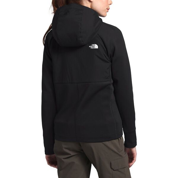 Women's Ventrix™ Active Trail Hybrid Hoodie, TNF BLACK, hi-res
