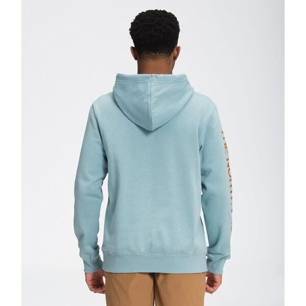 Men's New Sleeve Hit Hoodie, TOURMALINE BLUE, hi-res