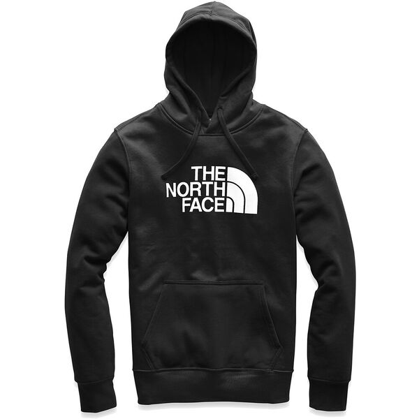 MEN'S HALF DOME PULLOVER HOODIE, TNF BLACK/TNF WHITE, hi-res