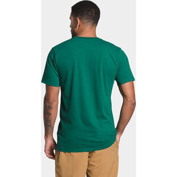 Men's Short-Sleeve Half Dome Tee, EVERGREEN/TNF BLACK, hi-res