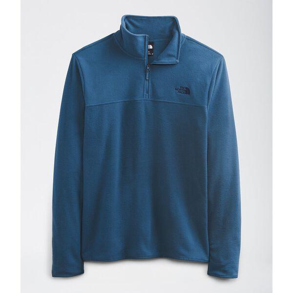 Men's TKA Glacier Fleece ¼ Zip, MONTEREY BLUE, hi-res
