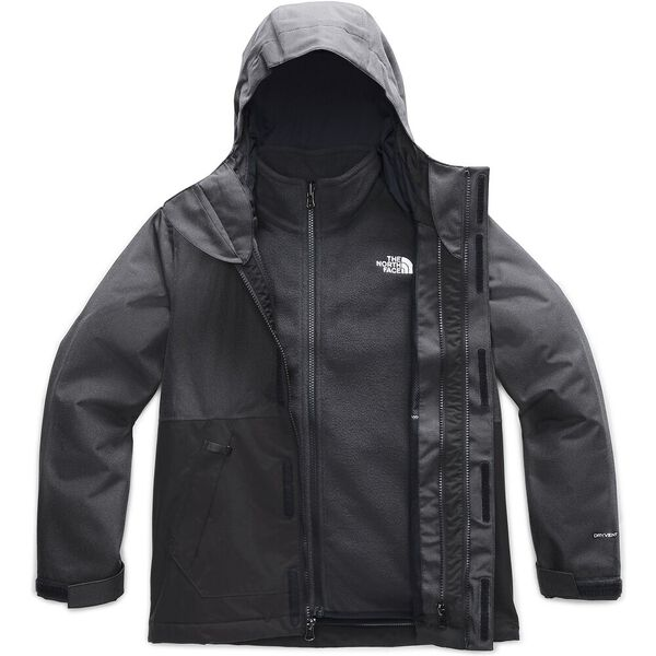 Boys' Vortex Triclimate® Jacket, ASPHALT GREY HEATHER, hi-res