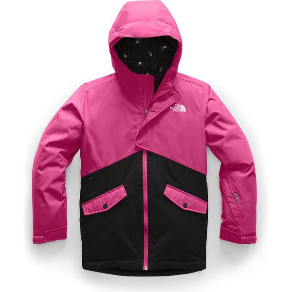 Girls' Freedom Insulated Jacket, MR. PINK, hi-res