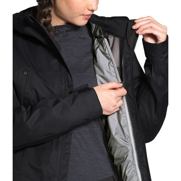 Women's Clementine Triclimate® Jacket, TNF BLACK/TNF MEDIUM GREY HEATHER, hi-res