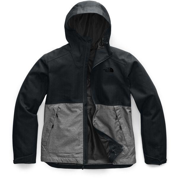 Men's Millerton Jacket, TNF BLACK HERRINGBONE/TNF MEDIUM GREY HEATHER DOBBY, hi-res