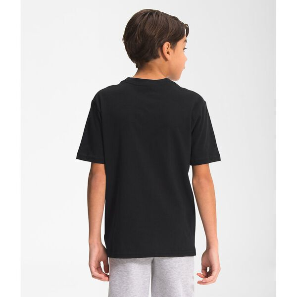 Boys' Short-Sleeve Graphic Tee, TNF BLACK-TNF WHITE-FIERY RED, hi-res