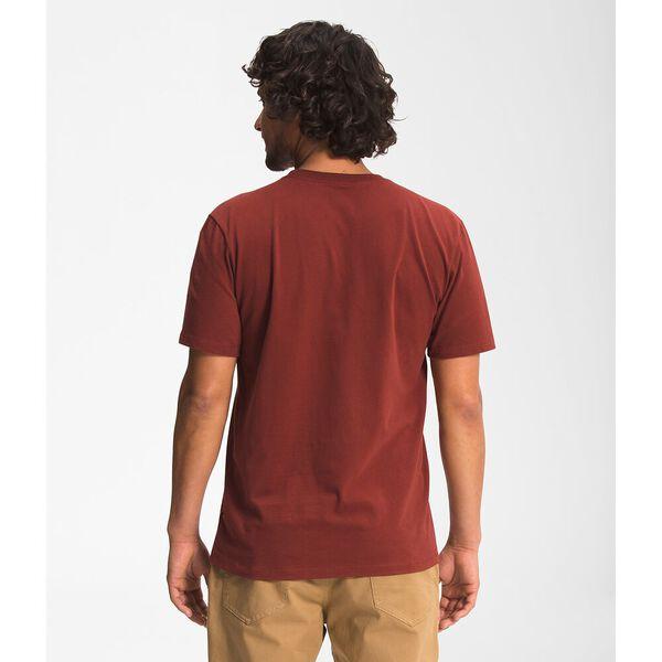 Men's Short-Sleeve Half Dome Tee, BRICK HOUSE RED, hi-res