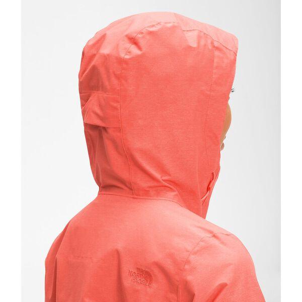 Women's Venture 2 Jacket, EMBERGLOW ORANGE HEATHER, hi-res