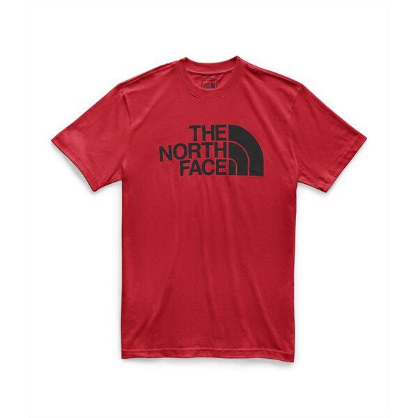 MEN'S SHORT-SLEEVE HALF DOME TEE, TNF RED/TNF BLACK, hi-res