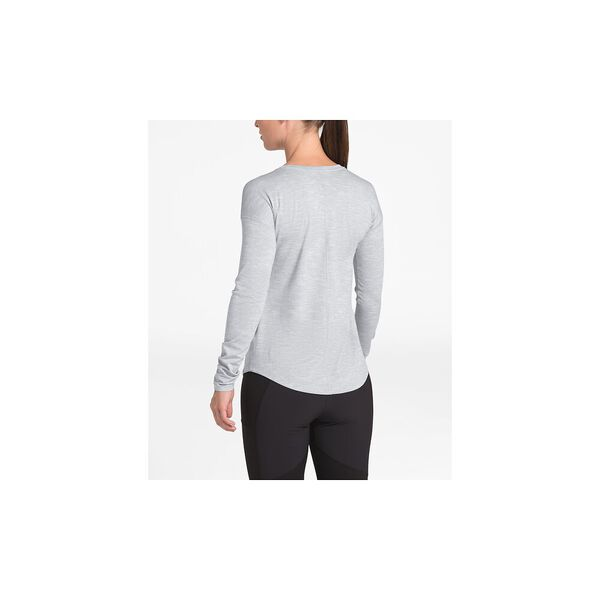 Women's HyperLayer Flashdry™ Long-Sleeve Crew, TNF LIGHT GREY HEATHER, hi-res