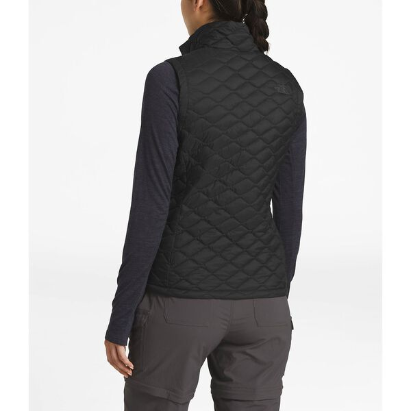 WOMEN'S THERMOBALL™ VEST, TNF BLACK MATTE, hi-res