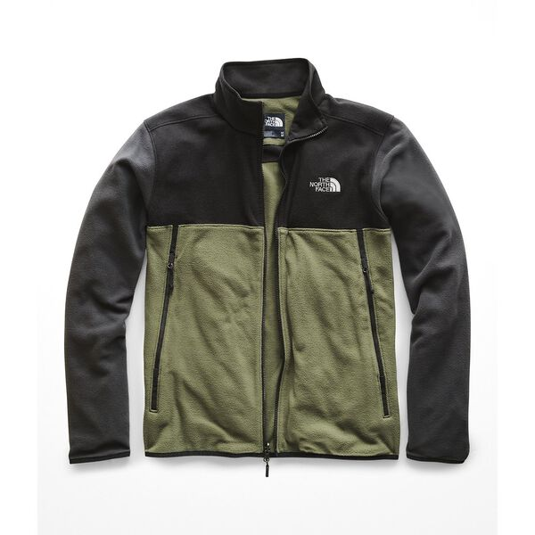 MEN'S GLACIER ALPINE JACKET, FOUR LEAF CLOVER-TNF BLACK-ASPHALT GREY, hi-res