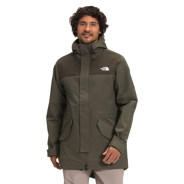 Men's City Breeze Rain Parka, NEW TAUPE GREEN/NEW TAUPE GREEN 1D, hi-res