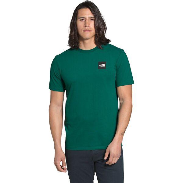 Men's Short-Sleeve Red Box Tee, EVERGREEN/TNF BLACK, hi-res