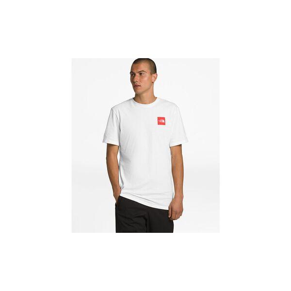 Men's Short-Sleeve Red Box Tee, TNF WHITE, hi-res