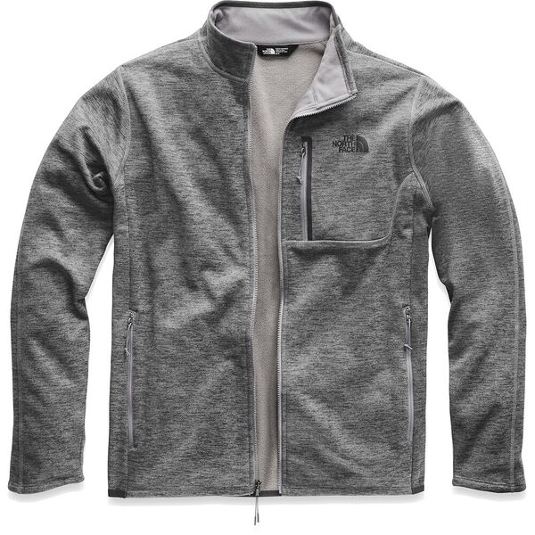 Men's Canyonlands Full Zip, TNF MEDIUM GREY HEATHER, hi-res