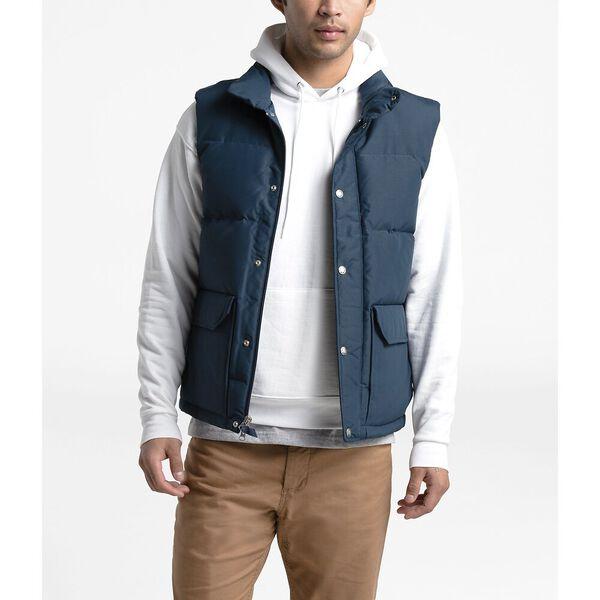 Men's Down Sierra 3.0 Vest, BLUE WING TEAL, hi-res