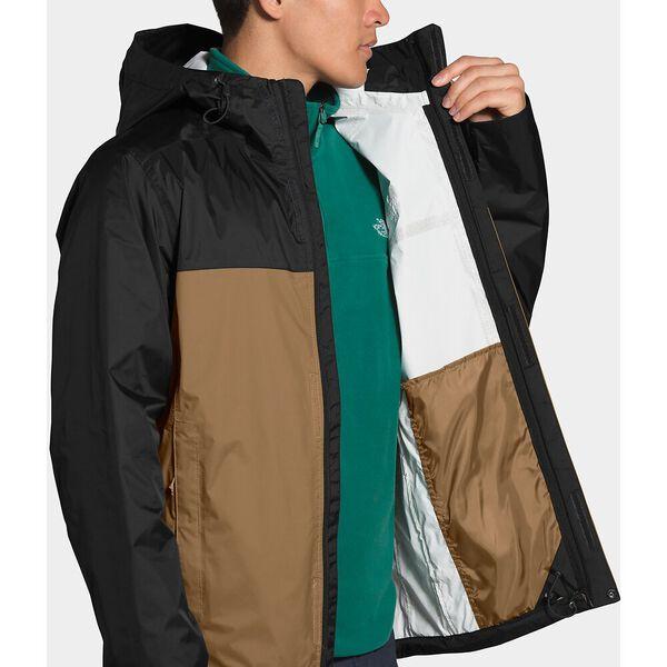 Men's Venture 2 Jacket, UTILITY BROWN/TNF BLACK, hi-res