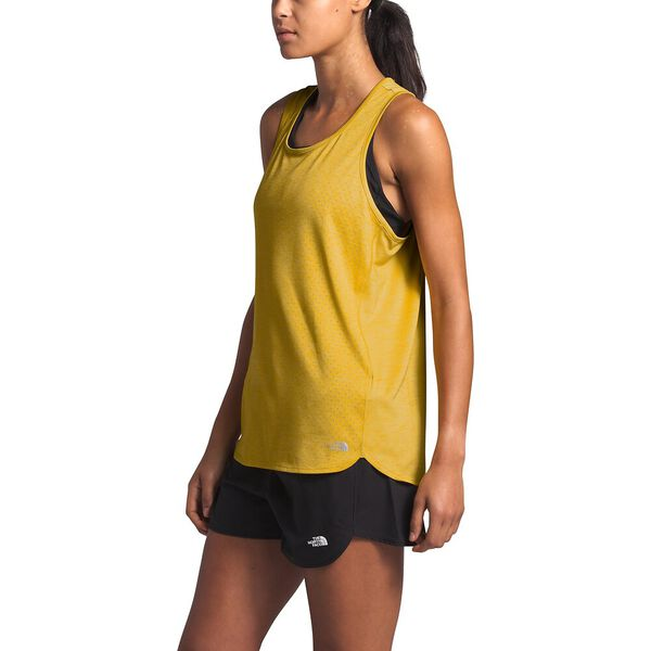 Women's Active Trail Jacquard Tank, BAMBOO YELLOW HEATHER, hi-res