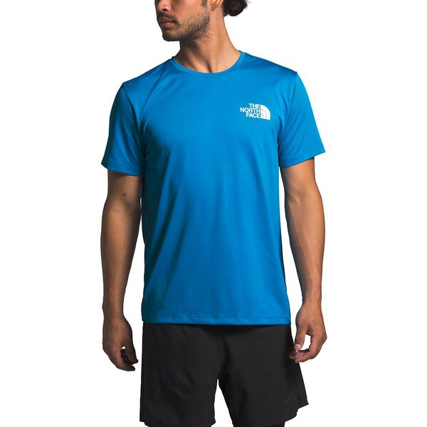 Men's Short-Sleeve Reaxion Tee, CLEAR LAKE BLUE, hi-res