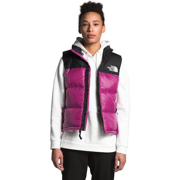 Women's 1996 Retro Nuptse Vest, WILD ASTER PURPLE, hi-res