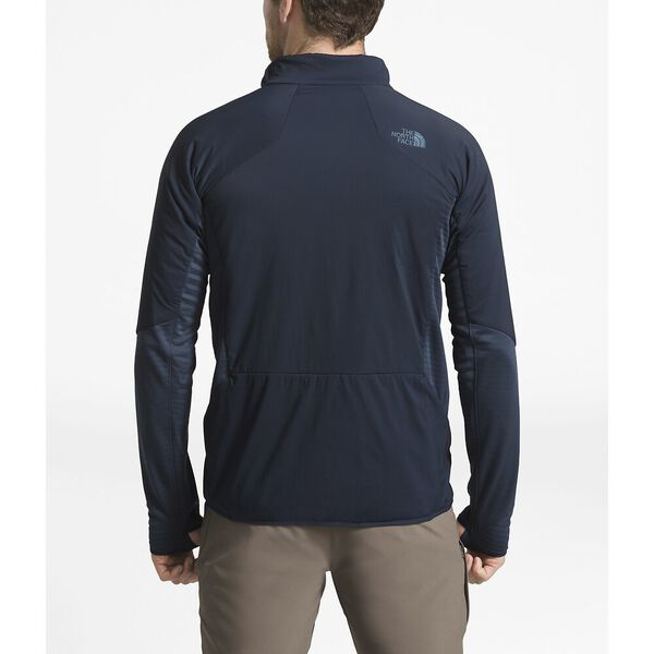 MEN'S VENTRIX LT FLEECE HYBRD JACKT, URBAN NAVY/SHADY BLUE, hi-res