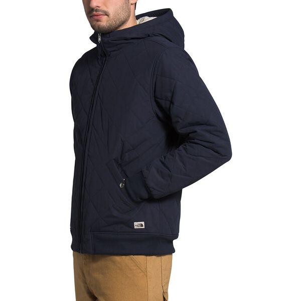 Men's Cuchillo Fleece Insulated Full Zip Hoodie, AVIATOR NAVY, hi-res