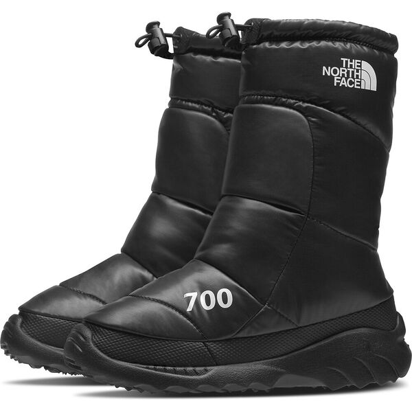 Women's Nuptse Bootie 700, TNF BLACK/TNF WHITE, hi-res