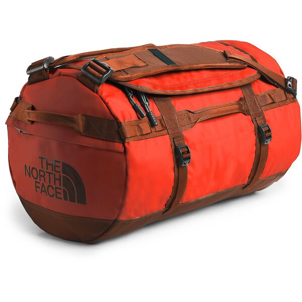 BASE CAMP DUFFEL - S, ACRYLIC ORANGE/PICANTE RED, hi-res