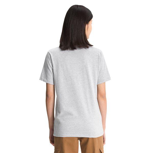 Women's Short-Sleeve TNF™ Bear Tee, TNF LIGHT GREY HEATHER, hi-res