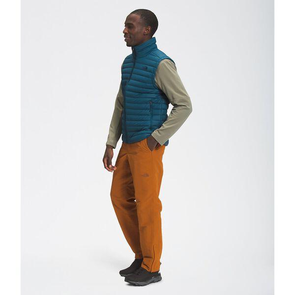 Men's Stretch Down Vest, MONTEREY BLUE, hi-res