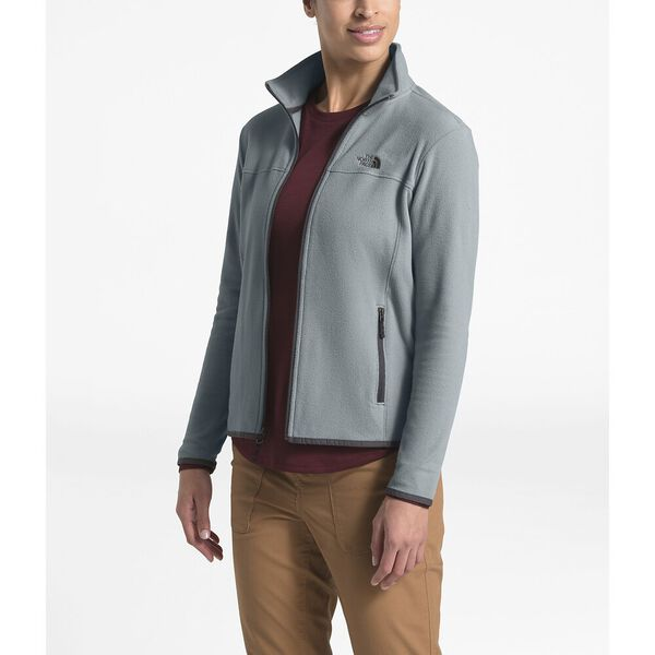 Women's TKA Glacier Full Zip Jacket, MID GREY/MID GREY, hi-res