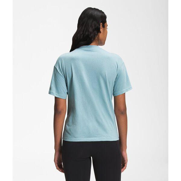 Women's Short-Sleeve Relaxed Pocket Tee, TOURMALINE BLUE, hi-res