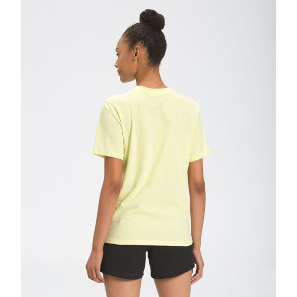 Women's Short-Sleeve Half Dome Cotton Tee, PALE LIME YELLOW, hi-res