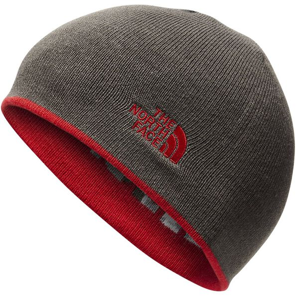 YOUTH ANDERS BEANIE, TNF RED/ASPHALT GREY CAMO, hi-res