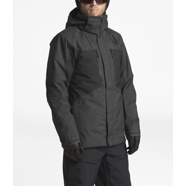 MEN'S CLEMENT TRICLIMATE® JACKET, ASPHALT GREY/TNF BLACK, hi-res