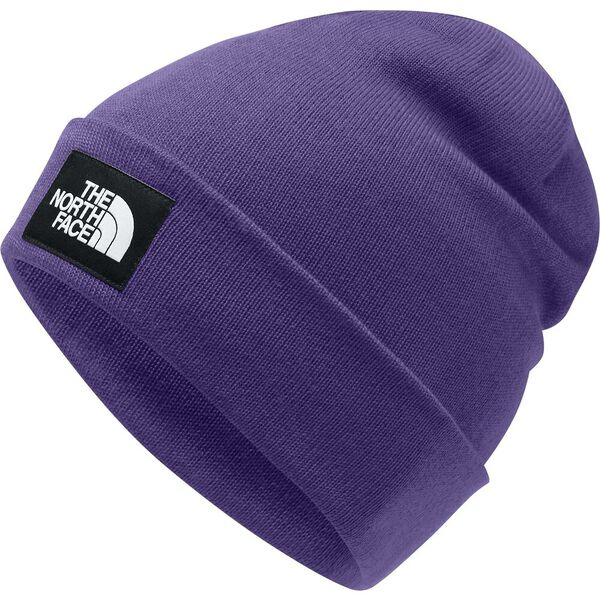 Dock Worker Recycled Beanie, HERO PURPLE/TNF BLACK, hi-res