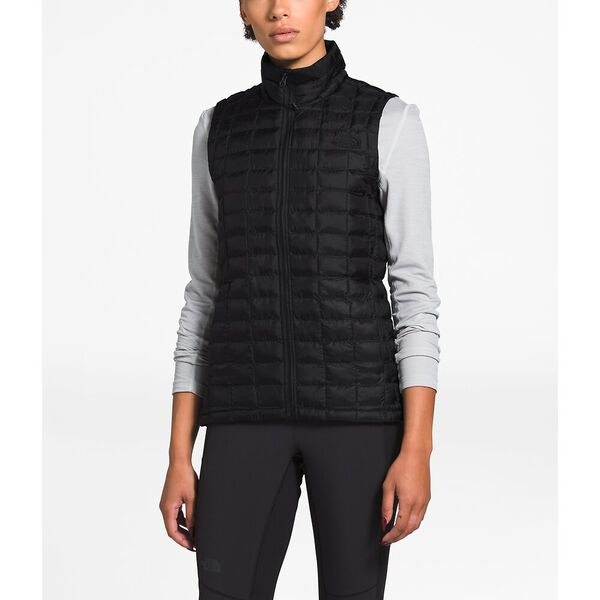 Women's ThermoBall™ Eco Vest, TNF BLACK MATTE, hi-res