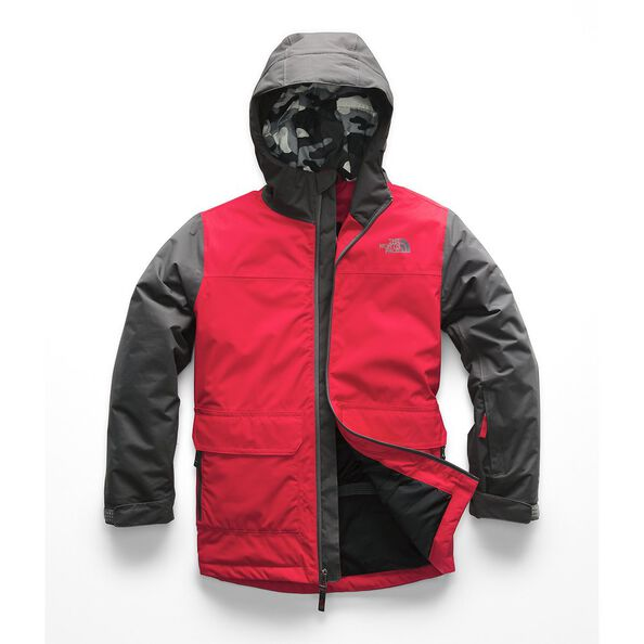 BOYS' FREEDOM INSULATED JACKET, TNF RED, hi-res