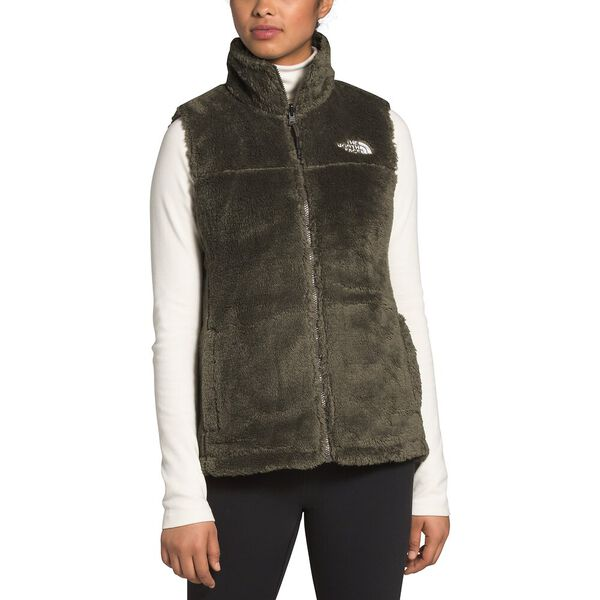 Women's Mossbud Insulated Reversible Vest, NEW TAUPE GREEN, hi-res