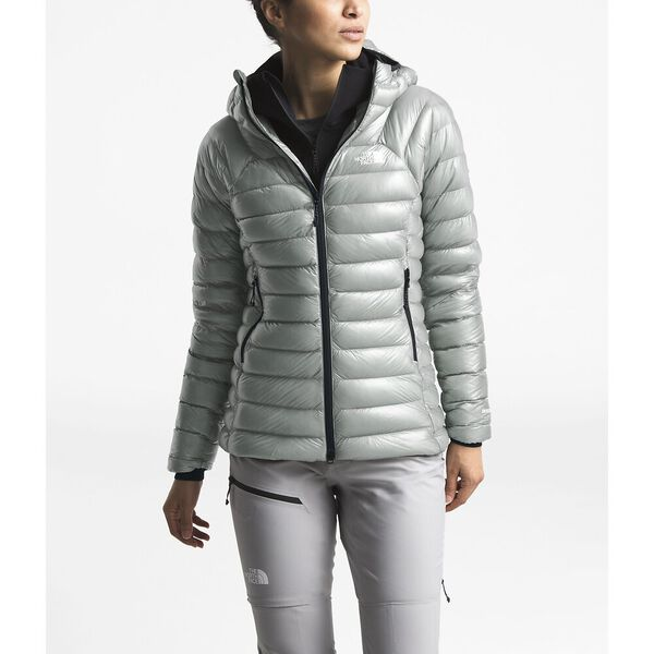 WOMEN'S L3 SUMMIT SERIES™ DOWN HOODIE, MELD GREY/MELD GREY, hi-res