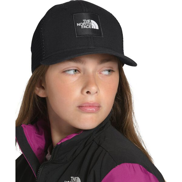 Youth Deep Fit Mudder Trucker, TNF BLACK, hi-res