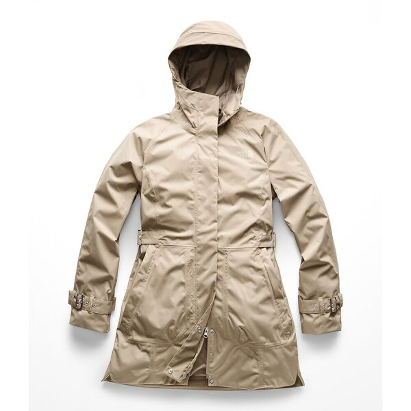 WOMEN'S CITY BREEZE RAIN TRENCH, CROCKERY BEIGE, hi-res