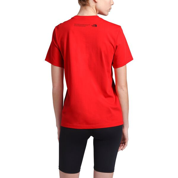 Women's Short-Sleeve Himalayan Source Tee, FIERY RED, hi-res