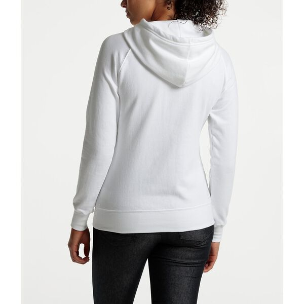 WOMEN'S HALF DOME PULLOVER HOODIE, TNF WHITE/TNF BLACK, hi-res